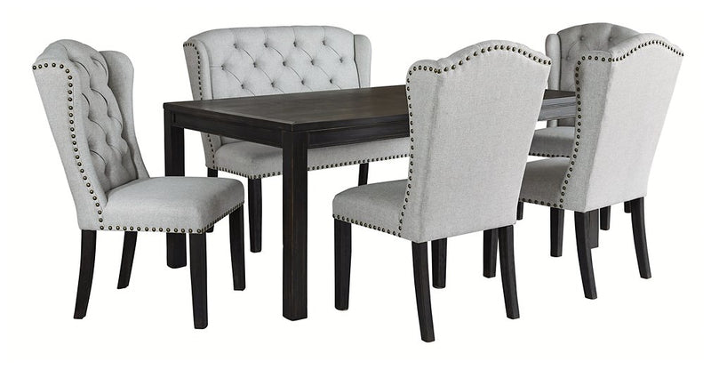 Jeanette Ashley 6-Piece Dining Room Package