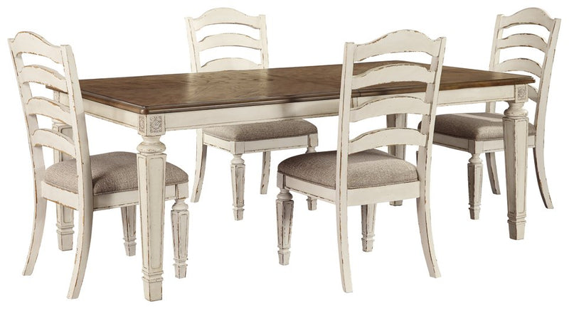 Realyn Signature Design 5-Piece Dining Room Set
