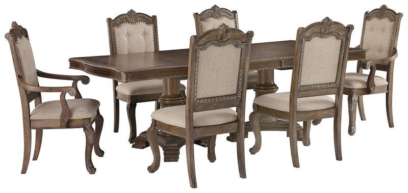 Charmond Signature Design 7-Piece Dining Room Package