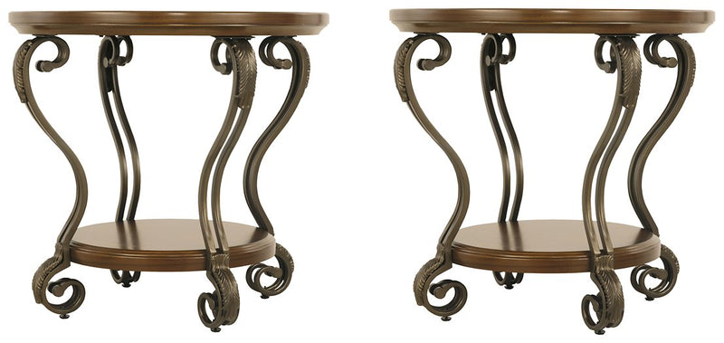 Nestor Signature Design 2-Piece End Table Set