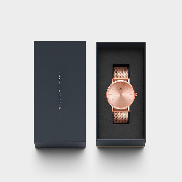 Chloé Monochrome Rose Gold | 32mm
