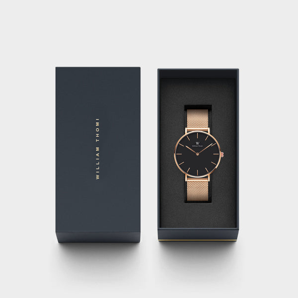 Chloé Rose Gold Black | 36mm