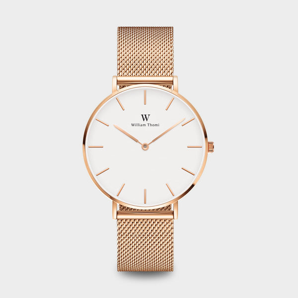 Chloé Rose Gold White | 36mm