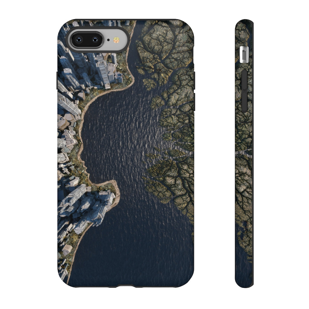 EARTHVIEW Abstract Art Tough Phone Case by Chad Knight