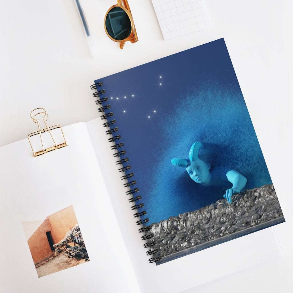CAPRICORN Spiral Notebook - Ruled Line