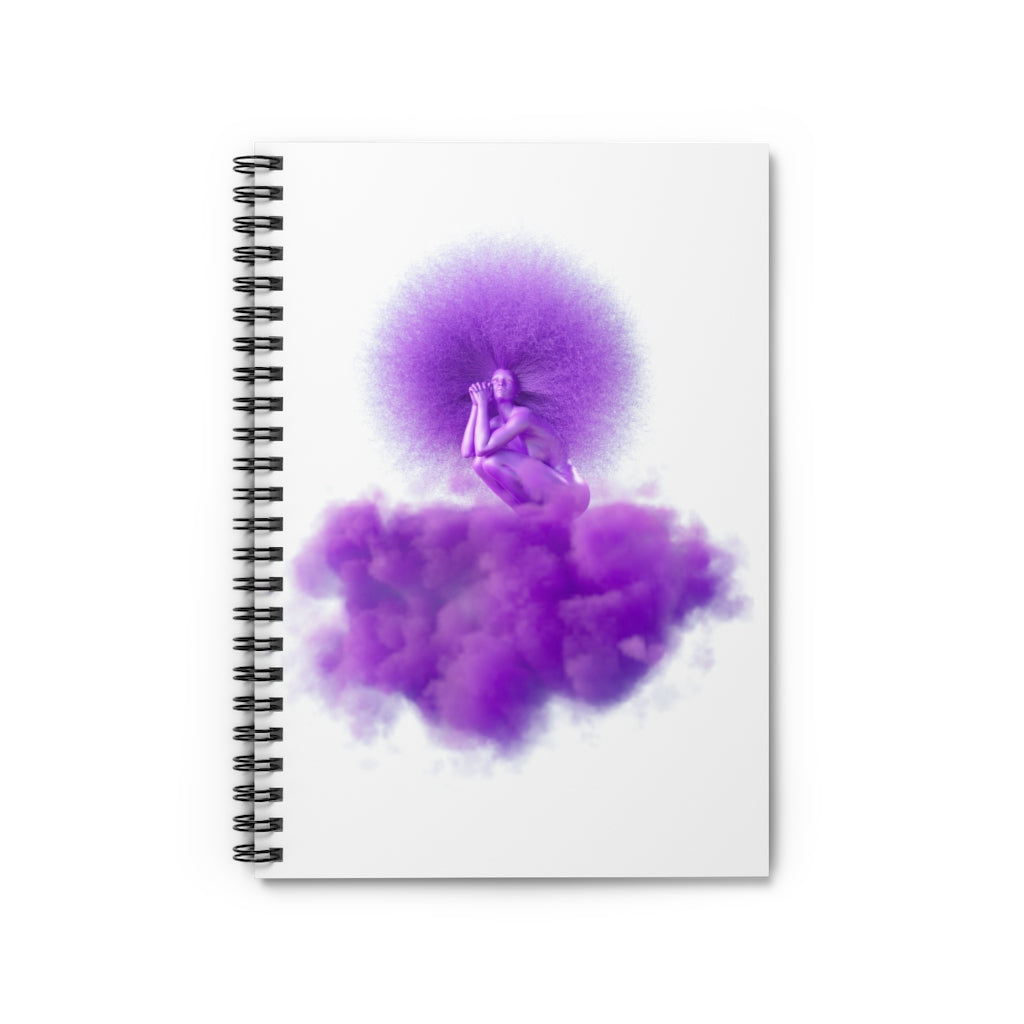 HER MAJESTY Spiral Notebook - Ruled Line