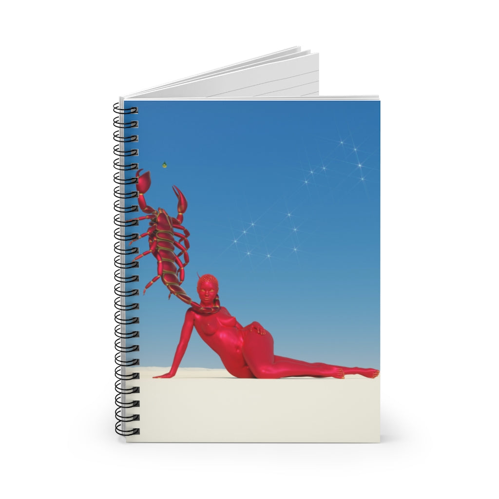 SCORPIO 2 Spiral Notebook - Ruled Line