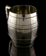 Load image into Gallery viewer, The Blues - Royal Horse Guards Silver Tankard, Hallmarked London 1865