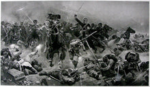 Load image into Gallery viewer, The Moonlight Charge of the Household Cavalry, Kassassin, 1882, Circa 1883