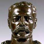 Load image into Gallery viewer, Bronze Bust of Field Marshal Lord Kitchener by Albert Toft, Circa 1910