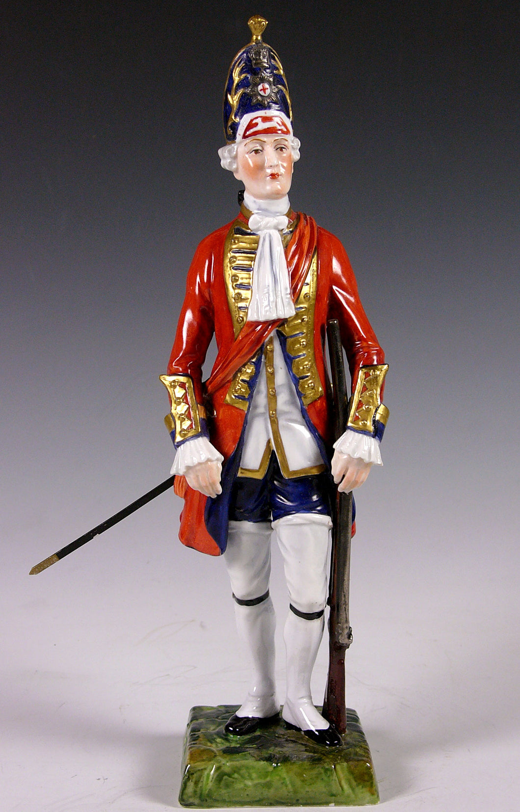 Officer, Grenadier Company, Coldstream Guards, 1760