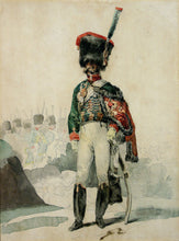 Load image into Gallery viewer, Study of a Premier Empire Chasseur à Cheval de la Garde Impériale