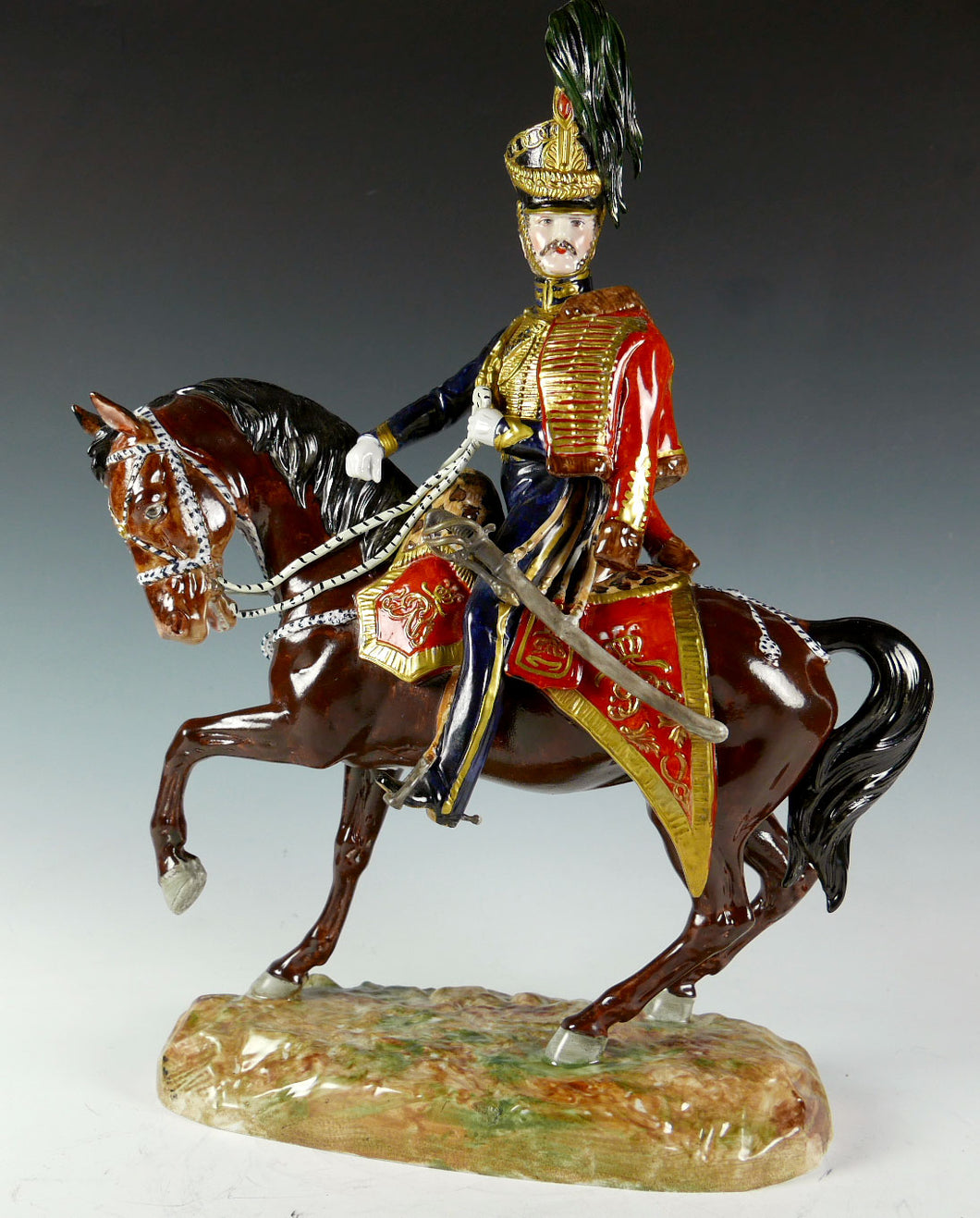 Officer, 10th (Prince of Wales's Own) Royal Hussars, 1832, Mid 20th Century