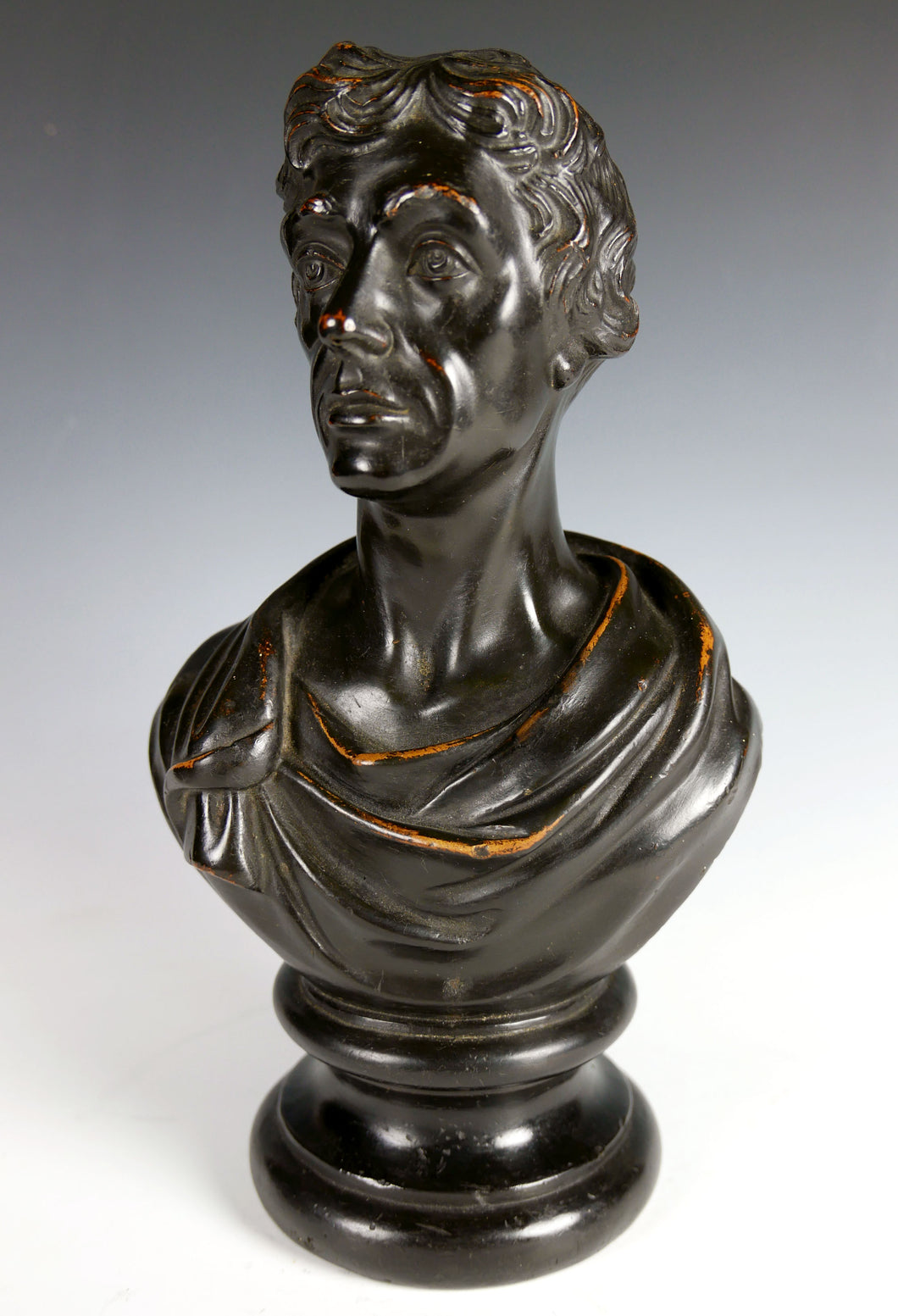 A George III Bust of Admiral Lord Nelson, dated April 1814