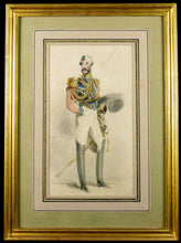 Load image into Gallery viewer, Study of an Officer of the Life Guards, 1830