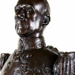 Load image into Gallery viewer, Portrait Bust of Rear-Admiral Sir John Jellicoe, K.C.V.O., C.B., R.N., 1910