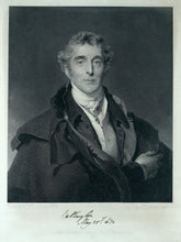 Load image into Gallery viewer, Autograph Signed Engraving of Arthur Wellesley, Duke of Wellington K.G., 1830