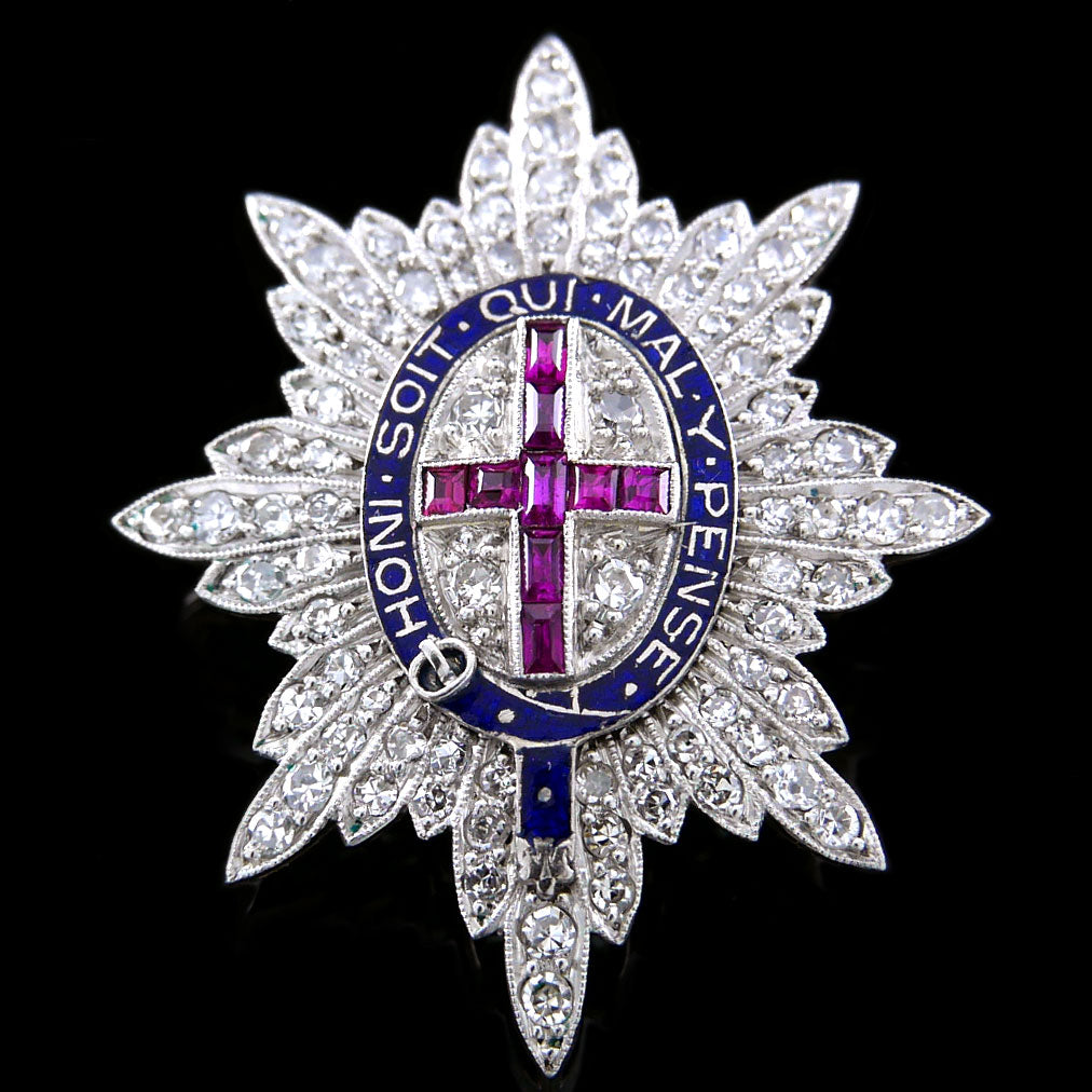 Coldstream Guards Brooch, Circa 1925