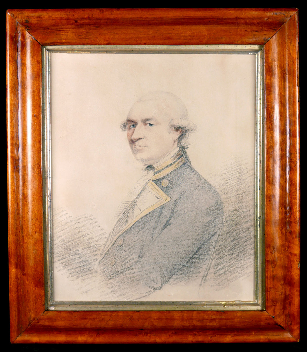 Portrait of Captain Sir Richard Pearson R.N. - Nemesis of Captain John Paul Jones, U.S.N., Circa 1810