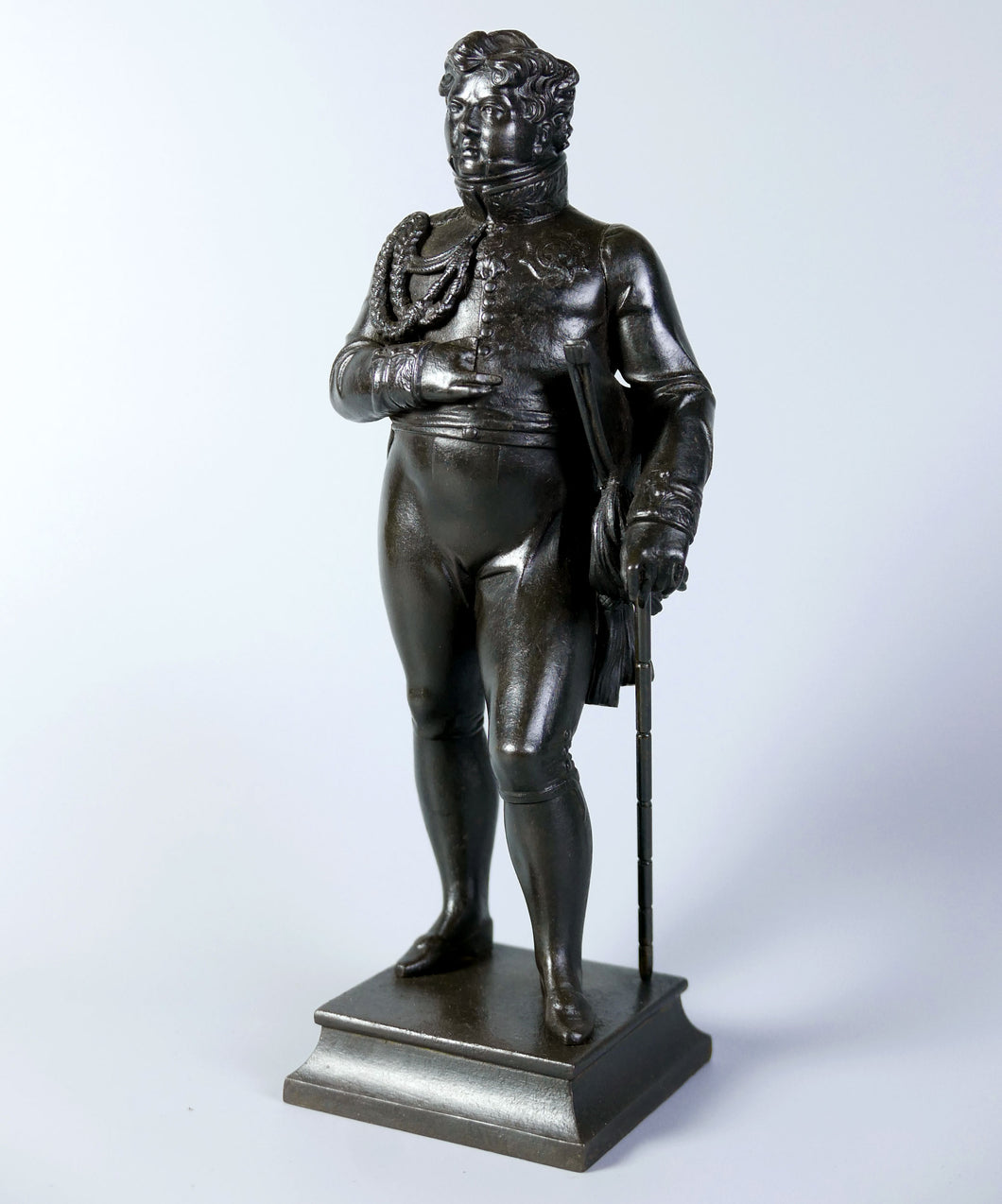 A Berlin Ironware Figure of The Prince Regent, 1814
