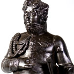 Load image into Gallery viewer, A Berlin Ironware Figure of The Prince Regent, 1814