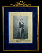 Load image into Gallery viewer, A Royal Presentation Portrait of Princess Victoria of Wales, 1899