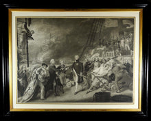 Load image into Gallery viewer, Late 19th Century Engraving of the Battle of Camperdown, 1890