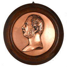 Load image into Gallery viewer, Prince Albert Portrait Relief Memorial Plaque, 1861