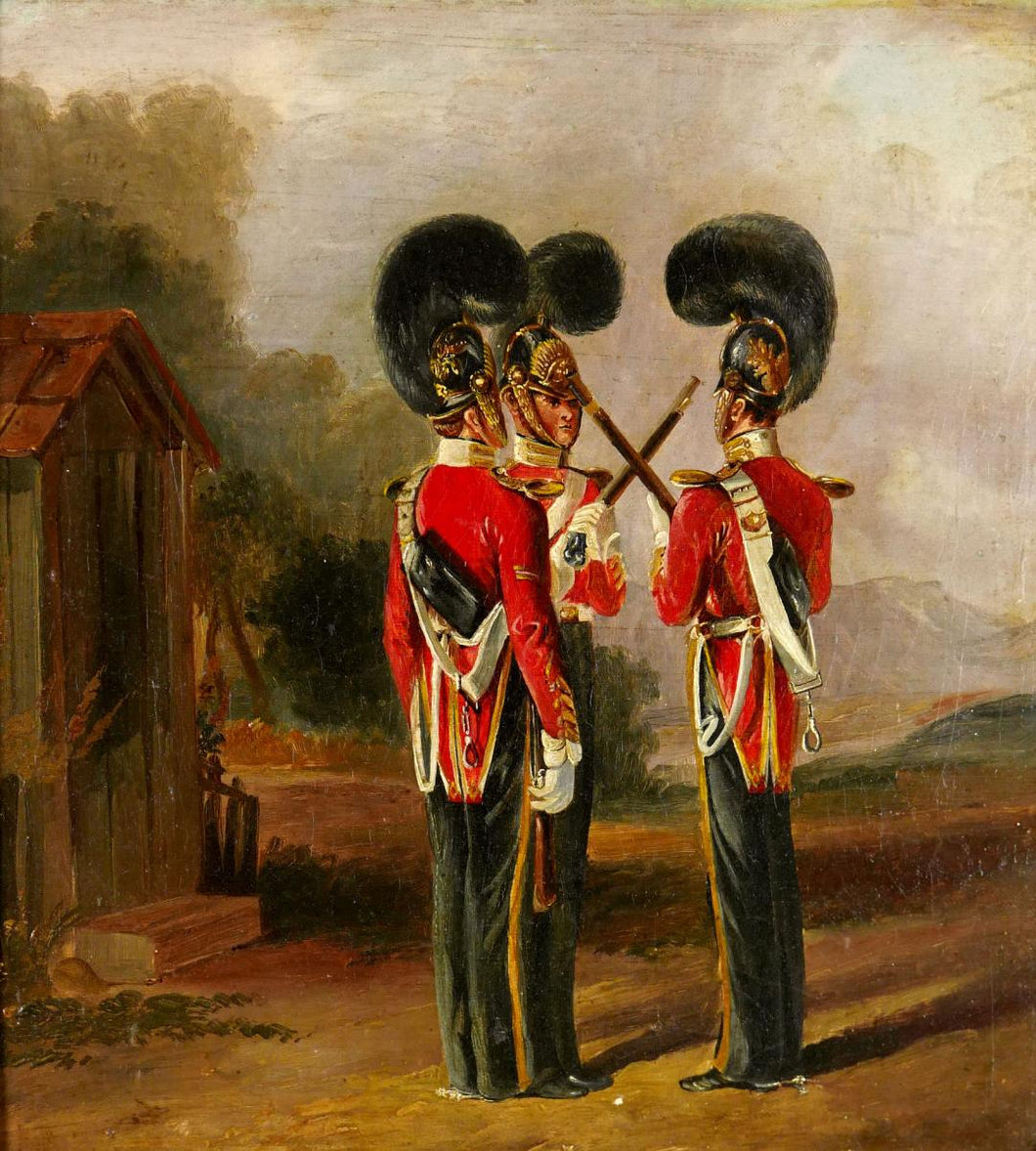 English School- 6th Dragoon Guards, 1840