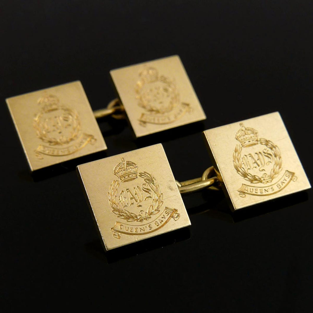 The Queen's Bays (2nd Dragoon Guards) Cufflinks