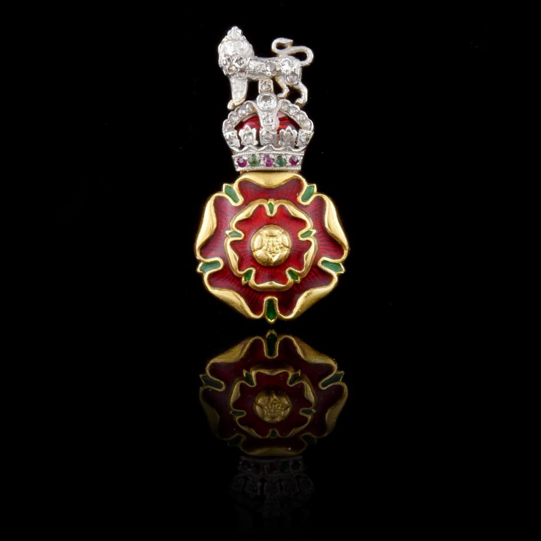 The Loyal Regiment (North Lancashire) Brooch