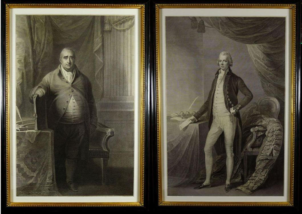 Political Adversaries - Pitt the Younger & Charles James Fox, 1808-15
