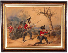 Load image into Gallery viewer, Skirmishers of the 52nd Oxfordshire Light Infantry - Henry Martens, 1853