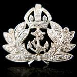 Load image into Gallery viewer, Royal Navy Brooch
