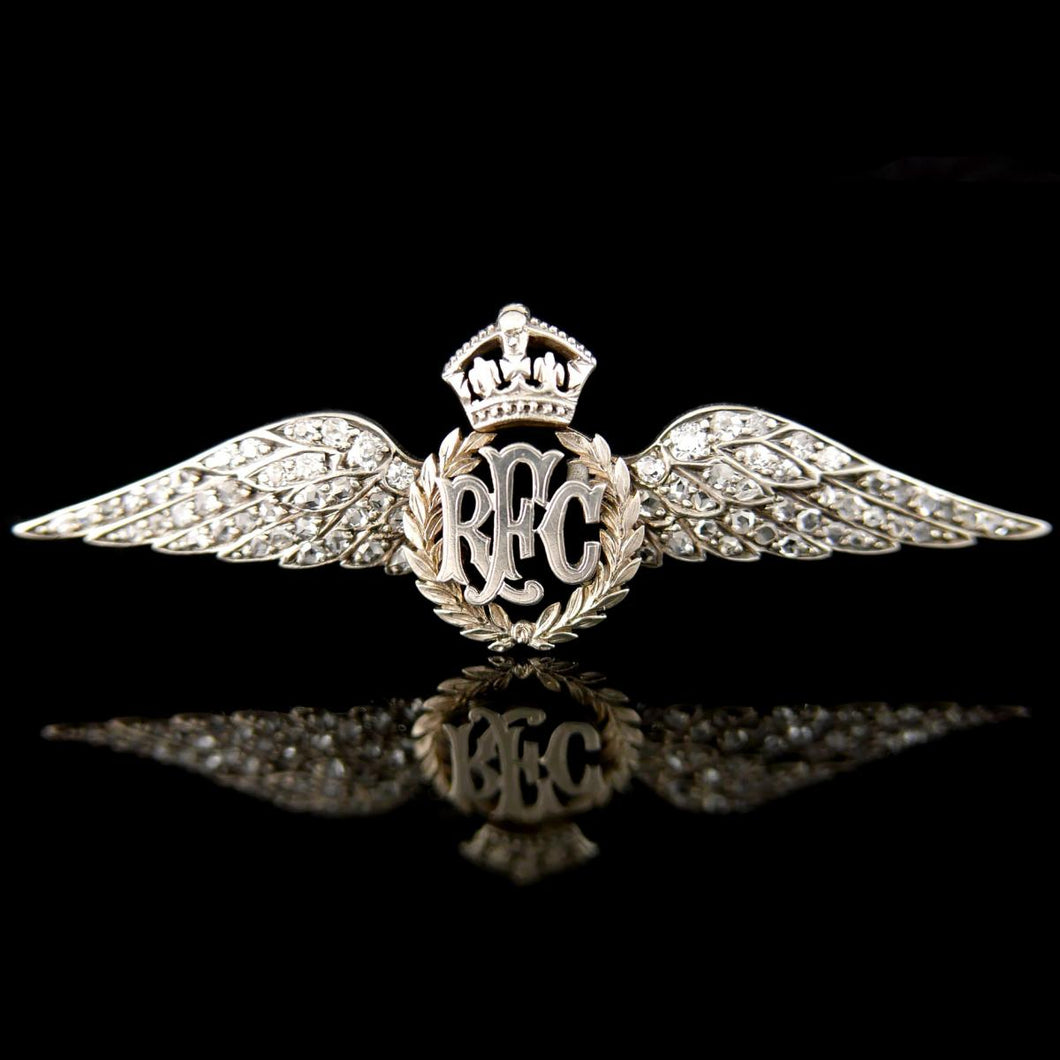 Royal Flying Corps Brooch