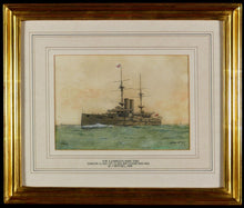 Load image into Gallery viewer, Royal Navy - H.M.S. Exmouth 1906