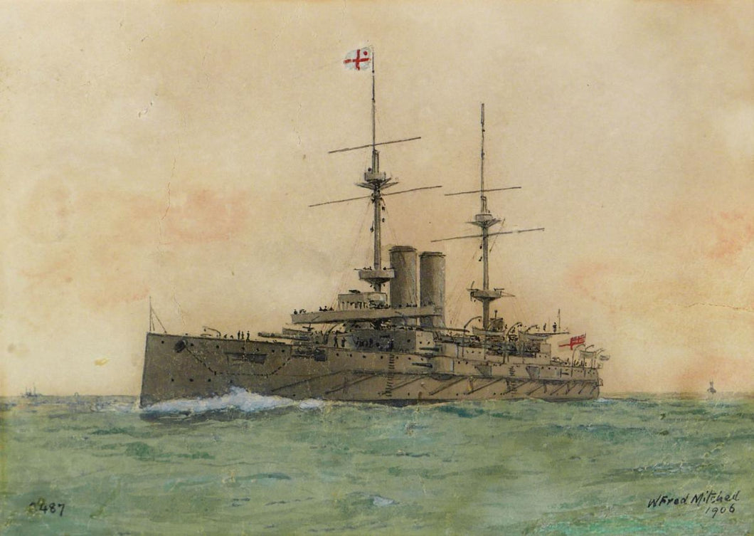 Royal Navy - H.M.S. Exmouth 1906