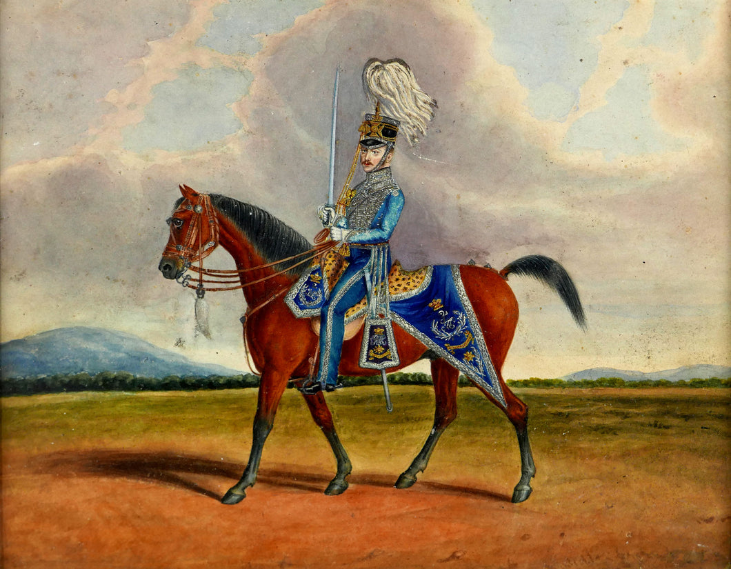 Study of an Officer of the 2nd Madras Light Cavalry, 1845