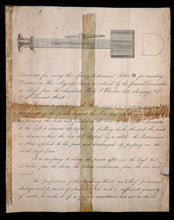 Load image into Gallery viewer, A Military Deserter Marking Instrument, 1842