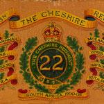 Load image into Gallery viewer, The Cheshire Regiment - Drum Maker's Regimental Emblazon Pattern, 1925