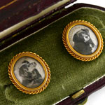 Load image into Gallery viewer, Personal Gift of Queen Victoria (1837-1901) - A Pair of Dress Studs, 1874