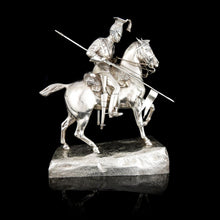 Load image into Gallery viewer, The Royal Lancers - A Victorian Equestrian Regimental Presentation Figure, 1900