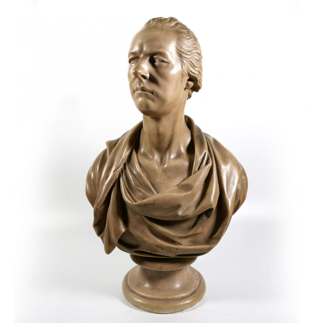 Large Library Bust of William Pitt the Younger, 1815