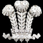 Load image into Gallery viewer, Prince of Wales's Feathers Brooch, Circa 1935