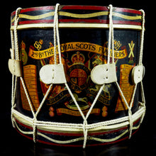 Load image into Gallery viewer, 2nd Bn The Royal Scots Fusiliers - Edward VIII Tenor Drum, 1935