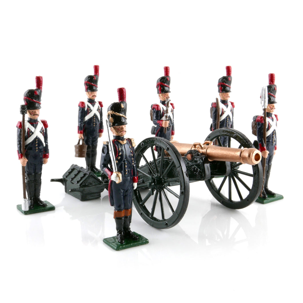 French Foot Artillery of the Imperial Guard