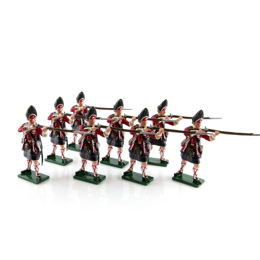 Grenadier Company, 42nd Highland Regiment of Foot, 1750