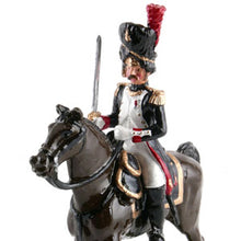Load image into Gallery viewer, Mounted Officer, French Grenadiers of the Guard, 1815