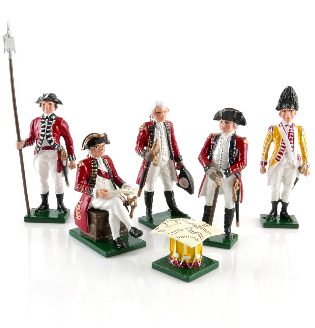 201 British Senior Officers, 1775