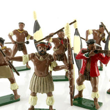 Load image into Gallery viewer, Toy Soldiers Set Zulus Married Regiments